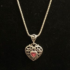 Brighton Love Your Heart Necklace